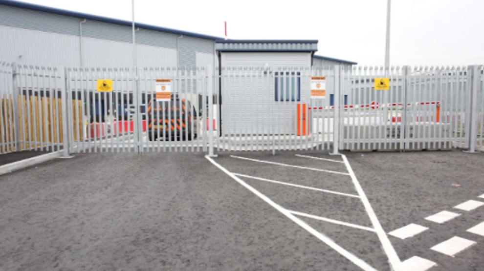 Security fencing & gate Installation