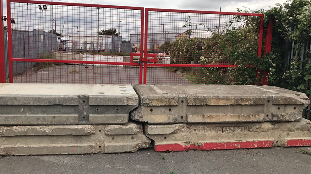 Security Barrier Installation