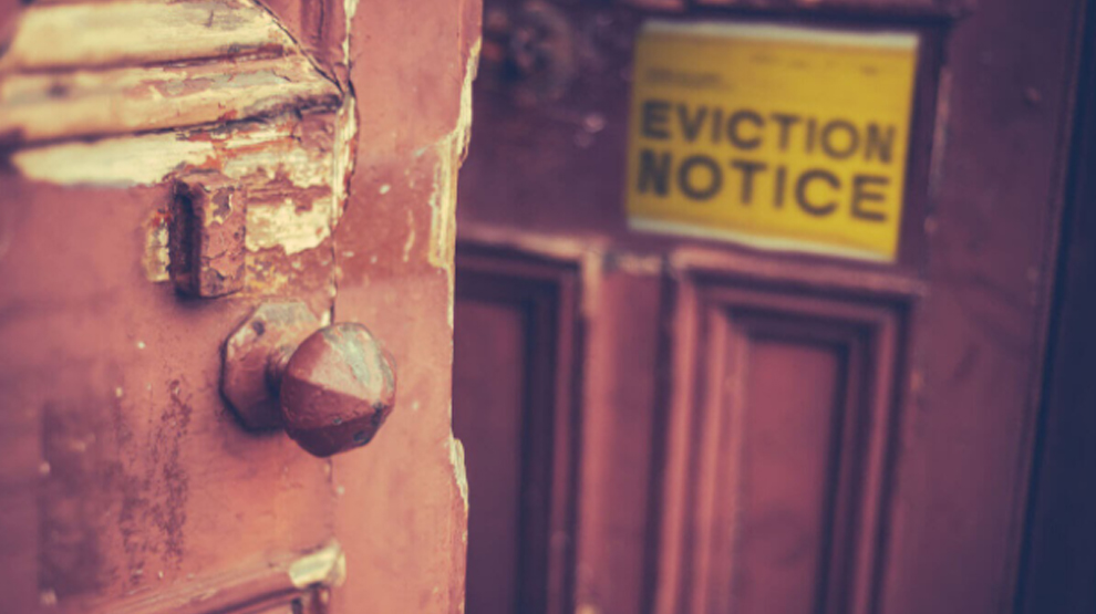 Evict tenants from residential property UK